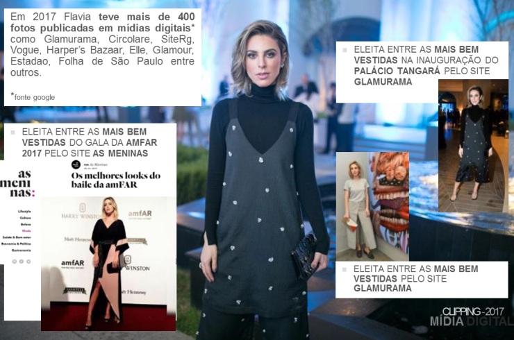 flavia millen midia digital glamurama amfar mais bem vestidas