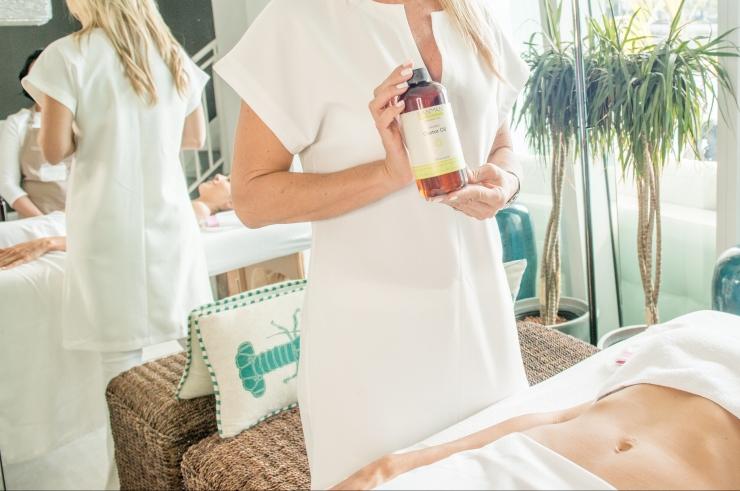 oleo massagem detox power flavia millen